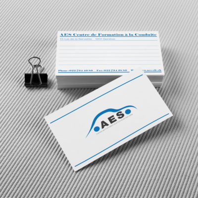 AES Business card
