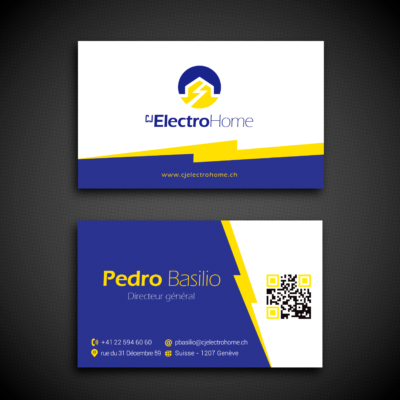 ElectroHome SA Business card