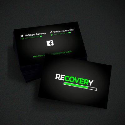 Recovery Business card