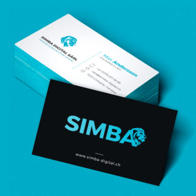 Simba Business card