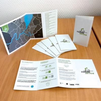 Caddie Service Brochure
