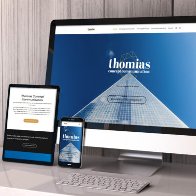 Thomias Concept Website